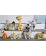 Bone China Animal Figurines made in Occupied Japan and Japan  - $16.00