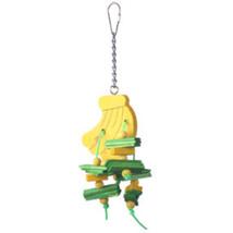 A&e Cage Happy Beaks Banana Bird Toy Small 644472017786 - £13.69 GBP