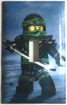 Ninjago Green Lloyd Ninja Light Switch Outlet Wall Cover Plate Home Decor
