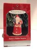 Hallmark Keepsake Ornament - Santa's Hidden Surprise - 1998 - QX6913 - $3.95