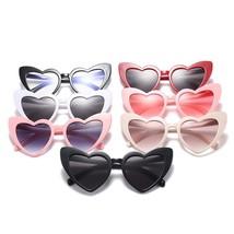 Cat Eye Sunglasses Women Love Heart Shaped Fashion Brand Designer Vintag... - $9.98