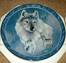Bradford Exchange Spirit Of The Wilderness Silver Scout Plate By Eddie L... - $15.95