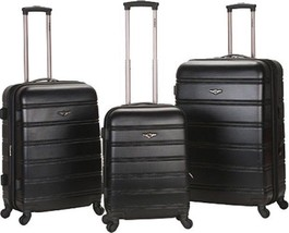 Rockland Melbourne 3 Piece Luggage Set $480 - NEW - FREE SHIPPING - in B... - $184.09