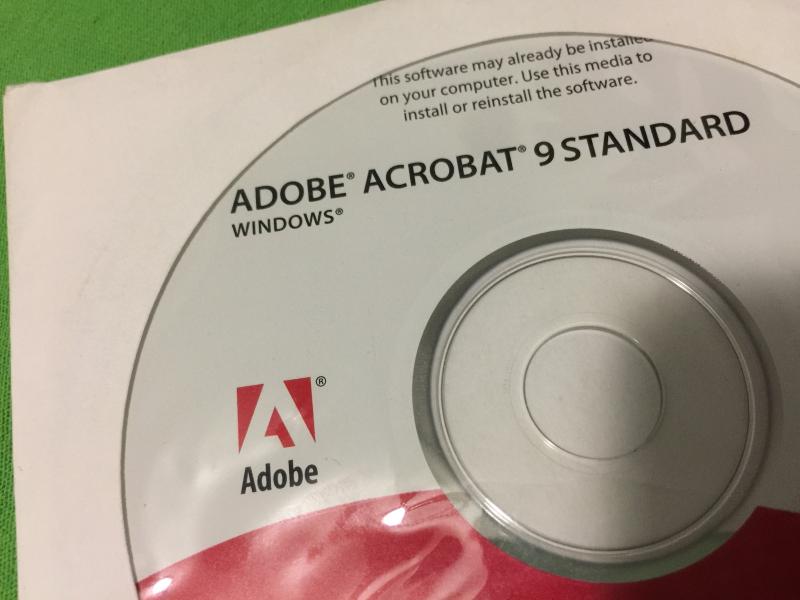 Adobe Acrobat 9 Standard Windows with CD Key and 50 similar