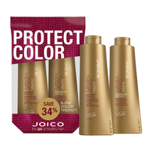 Joico K-Pak Color Therapy Shampoo, Conditioner 33.8 oz Liter Duo - $29.49