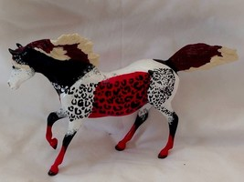 "{Rare} Breyer Custom Painted Running Fantasy CAT- Breyerfest Model 10"" X 6"" - $37.39"