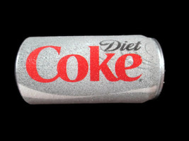 Diet Coke Can Blow Mold Christmas Ornament Frosted Look - $6.93