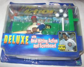 Sammy Sosa Pro Action Baseball Figurine Initial Gamme de Luxe MLB Hasbro... - $9.39