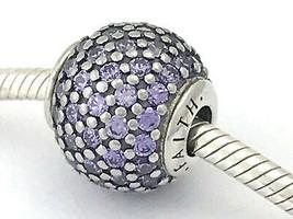 PANDORA Essence ONLY Faith, Purple CZ Charm 796062ACZ , New - $47.52