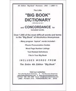 The Little Big Book Dictionary Lyle P and Lyle Parkins - $7.02