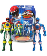 """NEW Bandai Power Rangers Operation Overdrive 6"""" Action Figure Green & Blue - $39.99"""