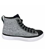 New Converse All-Star Modern Hi White Black High Top Sneaker Shoe 155024C - $59.99