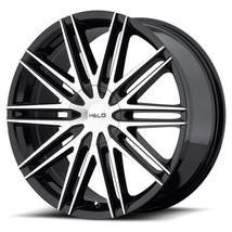 One 16x7 Helo HE880 Blank 42 Black Machine Wheels Rims - $154.54