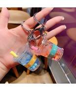 Kawaii Boba Bubble Milk Tea Drink Keychain Keyring Pendant Japanese Cute... - $3.99