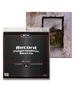 300x BCW 33 1/3 RPM 2 Mil Outer Sleeves Archival Poly Bags for Record Al... - $39.66