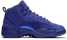 Boys Preschool Jordan 12 Retro Deep Royal Blue Basketball Shoes [151186 ... - $99.74