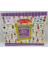 Melissa & Doug Sticker Collection Book Fashion 600+ Stickers 10 Pages - $15.00