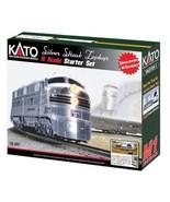 Kato USA Model Train Products N CB&Q Streak Zephyr UNITRACK Starter Set,... - $288.60