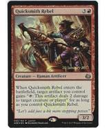 Magic The Gathering MTG Foil Quicksmith Rebel Prerelease Card Aether Revolt - $2.95