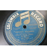 """10"""" 78 rpm RECORD COLUMBIA A1735 TAYLOR HACKEL BERGE TRIO BECAUSE/MOTHER... - £7.62 GBP"""