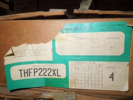 4- GE QMR222XL/THFP222XL 60A 2p 240V Fused Panelboard Switch Surplus in One Box - $1,000.00