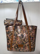 Patricia Nash Light English Country Print Leather Tote Trevis&Isla NEW $... - $169.99