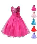 StylesILove Lovely Sequin Flower Girl Dress, 5 Colors - $18.99+
