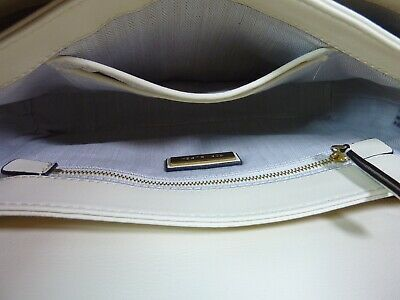 NWT Tory Burch New Cream KIRA Mixed-material Double-strap Shoulder Bag image 7