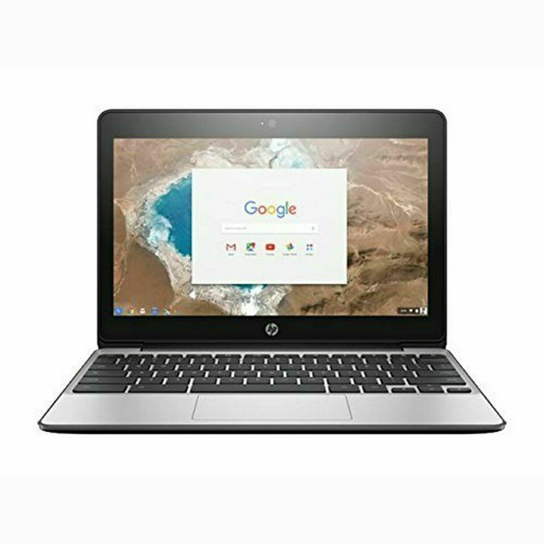 "HP Chromebook 11 G5 11.6"" N3060 1.6GHz 4GB RAM 16GB SSD Chrome OS w Charger! - $119.69"