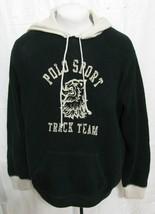 Vtg Ralph Lauren Polo Sport Track Team Knit Sweater Xxl Hoodie P-Wing Stadium 2X - $138.55
