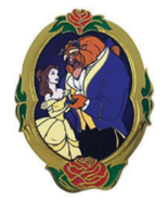 Beauty and the Beast VIP Disney Movie Club Pin & Certificate Of Authenti... - $23.99