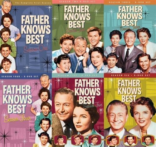 Father Knows Best Complete Series Seasons 1-6 [DVD Sets New]