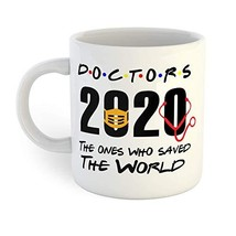 Doctors Save the World Coronavirus Quarantine Coffee Mug - $12.38