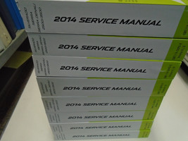 2014 Chevy Silverado GMC Sierra Sierra Denali 2500 3500 Series Service Manual Se - $570.23