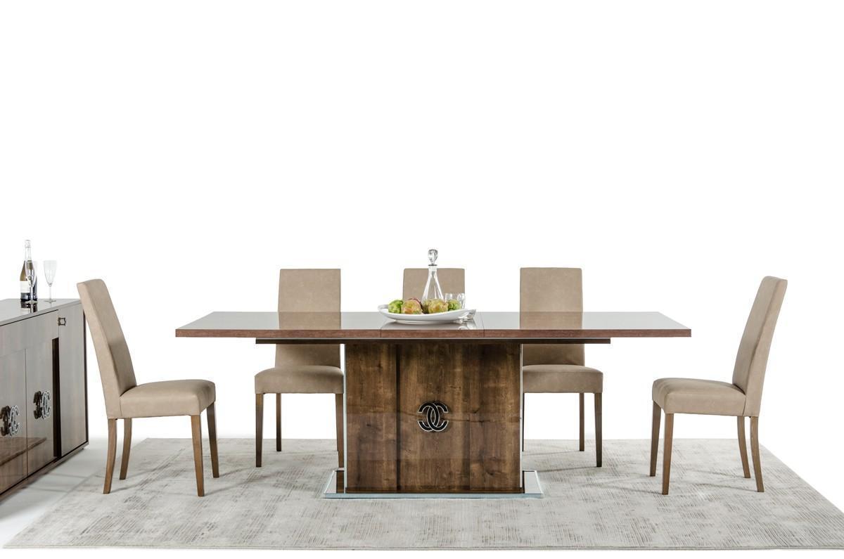 Vig Modrest Athen Italian Modern Dining Room Set 8 Pcs