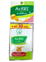 Mentholatum Acne Oil Control Film Leaving Skin Fresh and Clean 50+10 free Sheets - $9.99