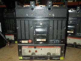 GE TJ4VF26 400A 3p 600VAC Circuit Breaker w/ LSI MicroVersaTrip Auxiliary Switch - $750.00