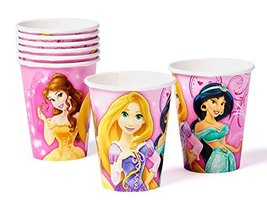 American Greetings Princess Party Supplies, Paper Cups (8-Count) - $3.99