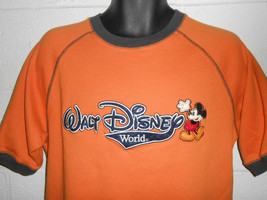 Vintage Mickey Mouse Walt Disney World Embroidered T-Shirt S/M - $24.99