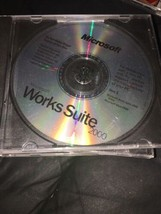 Microsoft Works Suite 2000 Completo CD Set - $31.36