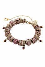 Bracelet a breloques Michal Negrin, cristaux de Swarovski # 100174390007 - $380.48