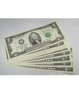 25 Consecutive 2003 $2 Federal Reserve Notes Gem Crisp New Uncirculated ... - $153.77