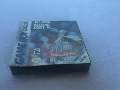 All Star Baseball 2001 Nintendo Game Boy Color New Old Stock Derek Jeter