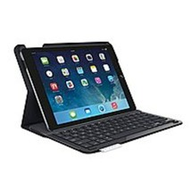 Logitech 920-006909 Keyboard/Cover Case for iPad Air - Black - Bump Resi... - $57.34