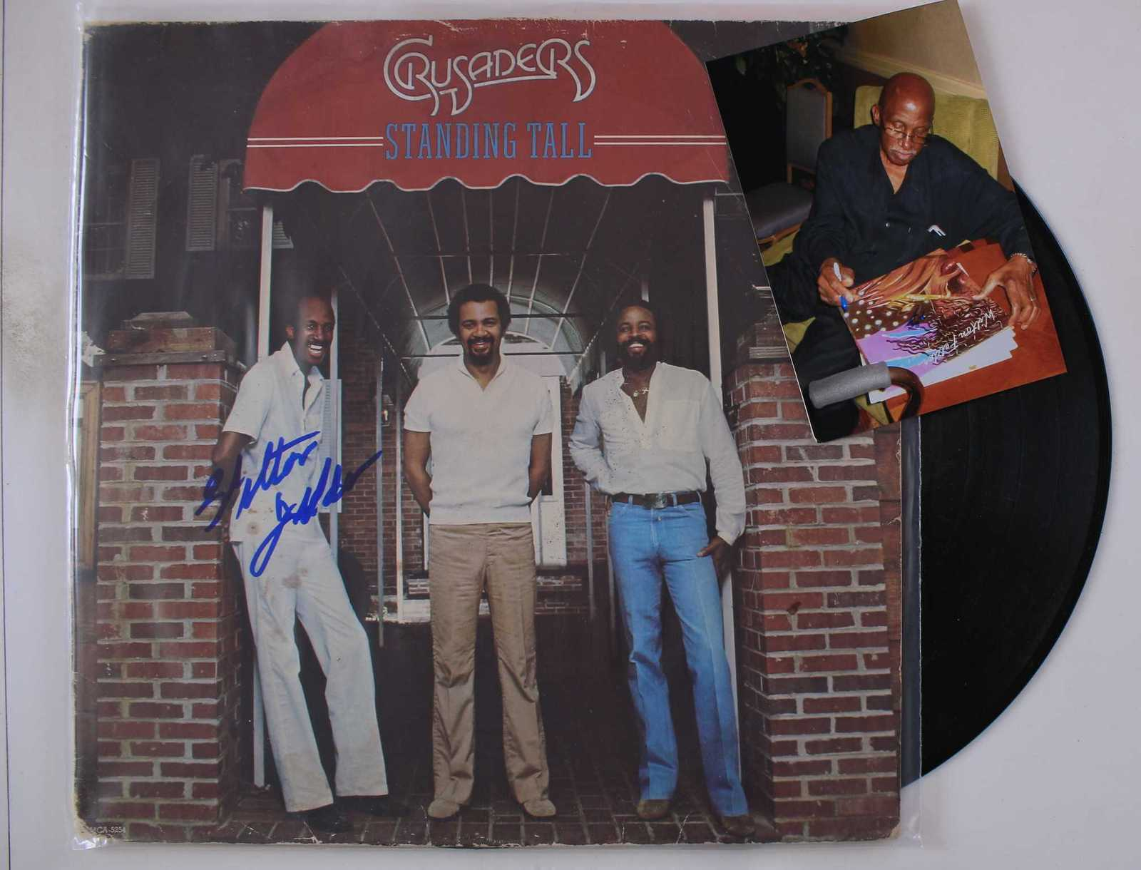 "Primary image for Wilton Felder Signed Autographed ""Crusaders"" Record Album w/ Proof Photo"