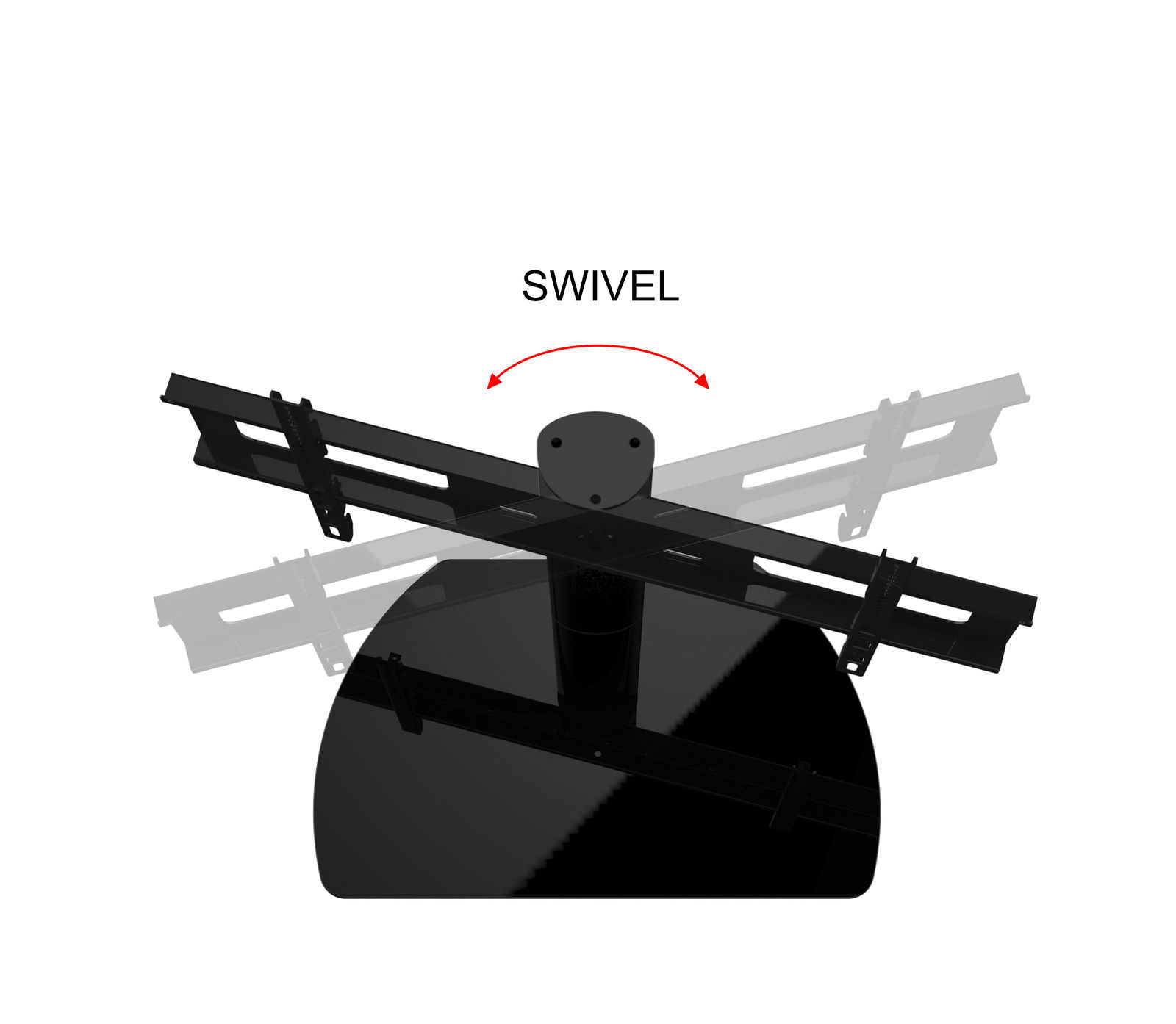 New Universal Replacement Swivel TV Stand/Base for Sony KDL-46EX500