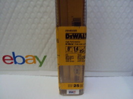 "Dewalt DW4809B25, 8"" x 14 TPI Reciprocating Saw Blades, 25 Pack FREE PRI... - $53.46"
