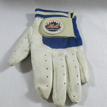 New York Mets Batting Glove Youth Left Hand Leather MBL Child Kid Little... - $12.86