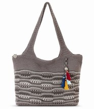 NWT The Sak Crafte Classic Large Crochet Tote Shopper Cloud Weave New SH... - $68.75