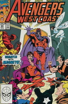 Avengers West Coast #60 FN; Marvel | save on shipping - details inside - $2.99
